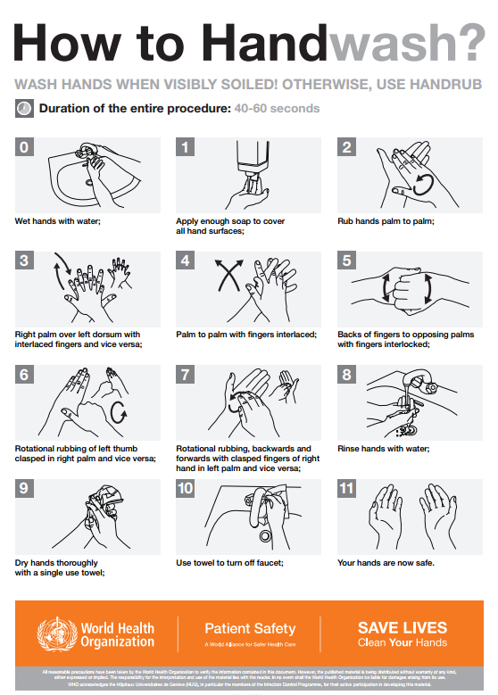 Hand washing can prevent healthcare-acquired infections, Encompass HealthCare & Wound Medicine, West Bloomfield, Michigan.