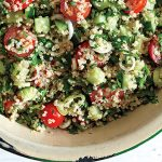 Use quinoa for the base of Tabouli Salad